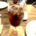 青蛾珈房 - アイスコーヒー