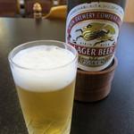 小島屋 - 瓶ビール(キリンラガービール)