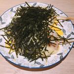 博多焼き鳥・野菜巻き・もつ鍋 かつぎや - 海苔チーズ巻き 250円