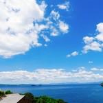 ボーダレス ラウンジ - 2階からの景色①(旧琴海町や西海市が見えます)