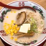 らーめん屋さつま - 料理写真:バターラーメン 豚骨  680円