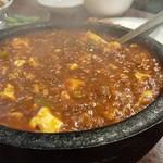 味覚 - 激辛 麻婆豆腐(かき混ぜ後)