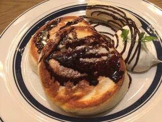 FROMA YORKYS CHEESE RESTAURANT&BAR - パンケーキ チョコバナナ