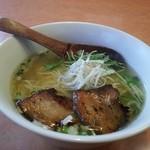 麺屋 夢創 - 柚子塩ラーメン