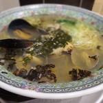 三陸味処三五十 - 料理写真:あかもくラーメン \700+税