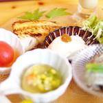玄米レストラン ぜんな - アコウ鯛の粕漬けはとても美味しかったです