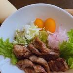 WATATSUMI - ちがさき牛の定食の野菜