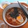 松っちゃん市場 - 料理写真:月見そば600円(ネギ抜き