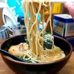 江戸一 - 江戸一@大井町 豚鶏ラーメン 麺リフト