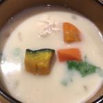 膳や musi-vege+ - 豆乳スープ