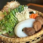 木曽路 - しゃぶしゃぶ(野菜) 4人分