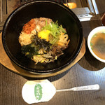焼肉飯店 こぶたー - 石焼ビビンバ(小)