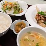 樓蘭香廚 - 料理写真:おすすめランチ