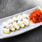 にっこりマッコリ - 豆腐キムチ