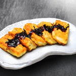 にっこりマッコリ - 豆腐ステーキ
