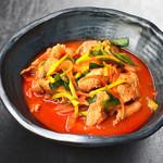 にっこりマッコリ - 肉ちゃんぽん麺