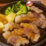 イタリアン&バル料理 全品食べ飲み放題 KUISHINBO - 豚だよね?