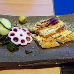 うおまん - 白焼き鰻炙り
