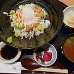 うおまん - アボカドサーモン丼
