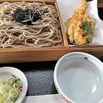 越前そば 千曳 - 料理写真:ざる蕎麦