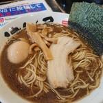 つけ麺 津気屋 - 煮干しラーメン(ネギ抜き)+味玉