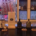 Sports Bar One's - 緑茶梅酒 芋焼酎黒霧島 麦焼酎吉四六 ロック 水割り 炭酸割り