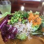 そ・ら・らレストラン - 生野菜