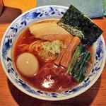 麺家 喜多楽 - 今昔支那そば醤油with味付煮玉子