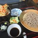 蕎麦一 - 料理写真:天丼セット