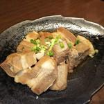 koshitsudenikubaruonikudeenkai - 黒豚トロトロ角煮