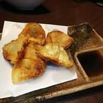 koshitsudenikubaruonikudeenkai - 黒豚の一口餃子