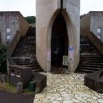 サンメッセ日南 - レストランの外観です。真ん中に入口がありますよ。(その1)