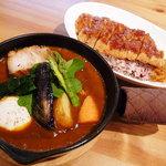"""箱根かれー 心 - 料理写真:一番人気は""""心""""スペシャルです!"""