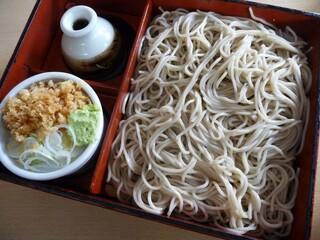 阿づ満庵 支店 - 箱そば(2012/01/31撮影)