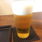 蕎麦 高しま - 生ビール