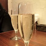 ItaLia Bar VANCALE - ハウススパークリングワイン