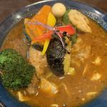 サッポロ スープカレー ジャック - チキンベジカレー♡¥1130(税込) (ベジタブル基本野菜+チキン)