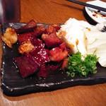 明石八 - ホルモン焼き