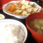 紅蘭 - 料理写真:野菜炒定食