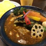 サッポロ スープカレー ジャック - チキンベジカレー♪ 1.130円