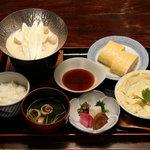 十二段家 - 生ゆば豆乳鍋定食