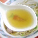 太白 - あっさりとコッテリがうまく同居したスープ