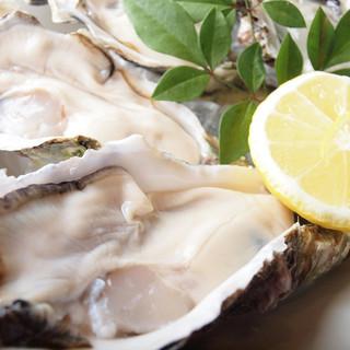 生牡蠣のシーズン到来!常備10種類至高の一粒をご賞味下さい!