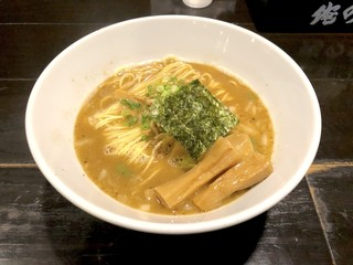 俺の空 新宿店 - 太メンマ掛け節そば(1,030円)