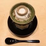 鮨 由う - ホタテの茶碗蒸し