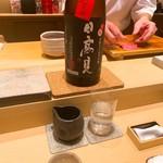 鮨 由う - 日高見 弥助 芳醇辛口純米吟醸