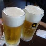 焼肉元太 - 生ビール