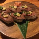 あだん亭 - 石垣牛寿司