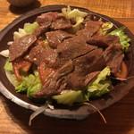 あだん亭 - 石垣牛サラダ