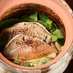 創作料理 アンク・クロス - 天然真鯛の土鍋飯